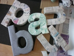 My Type of Decor – DIY 3D Letters