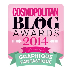 Cosmo Blog Awards – I'm shortlisted!